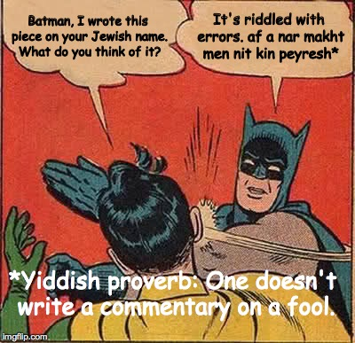No-commentary-on-a-fool